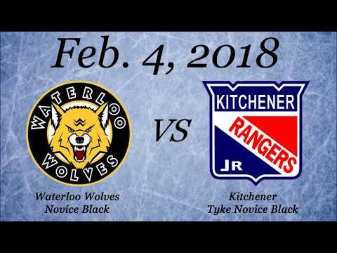 Kitchener Tyke Novice Black Vs Waterloo Wolves Novice Black 2/4/18