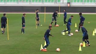 【U-23日本代表 リオ五輪アジア最終予選】1/5 U-23シリア代表とのテストマッチに向けて調整