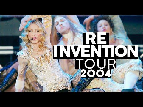 Cabalista Pacifista e homenagem ao passado  RE-INVENTION TOUR  Shows da Madonna