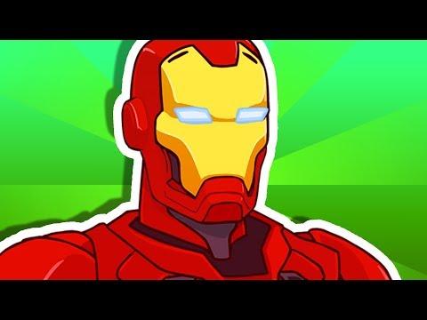 YO MAMA SO STUPID! Iron Man