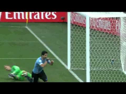 Copa do Mundo 2014 Uruguai 2x1 Inglaterra