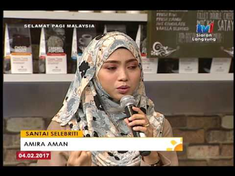 SPM - SANTAI SELEBRITI...AMIRA AMAN [4 FEB 2017]