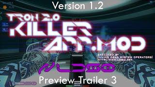 TRON 2.0 - KILLER APP Mod v1.2 Preview Trailer 3 (Multiplayer Weapons Test) (1080p HD)