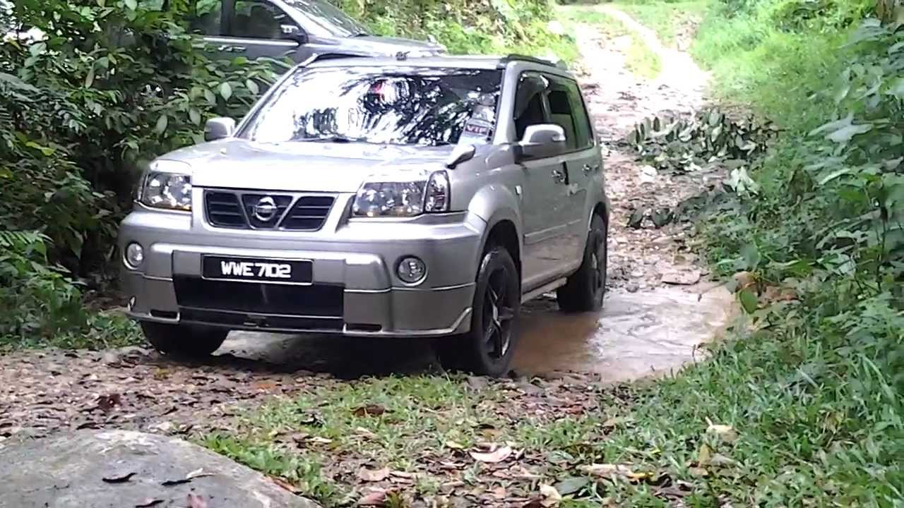 nissan x trail club to sungai sendat youtube. Black Bedroom Furniture Sets. Home Design Ideas