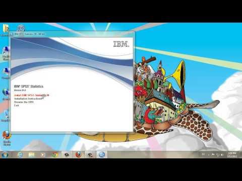 STA10003 Installing SPSS 20 on Windows 7
