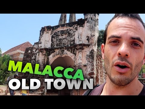MELAKKA OLD TOWN CITY OF MALACCA - TRAVEL VLOG