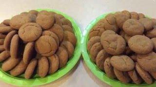 Bite Sized Soft Ginger Molasses Cookies  My most popular cookie!