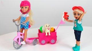 Brincando de Barbie com Bia Lobo