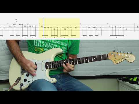 Rainbow - Long Live Rock And Roll Guitar Solo Cover With FREE TAB