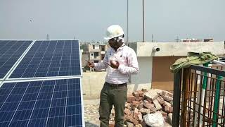How does Grid tied Solar system works.Solar installation by UNIFY SOLAR, Delhi
