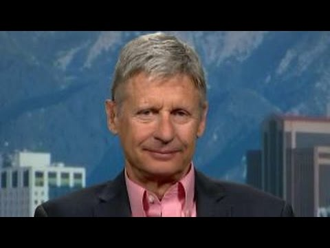 Gary Johnson confident he will be in presidential debates