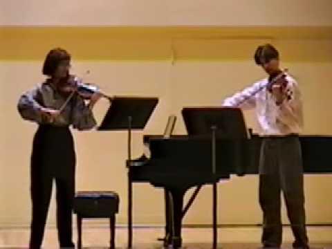 """Ptaszyńska Marta,  """"Mancala"""" for two violins"""