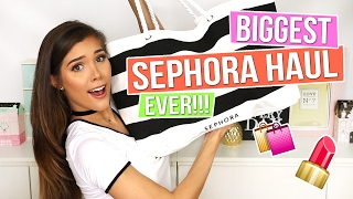 BIGGEST SEPHORA HAUL EVER!! Over 10kg (22lbs) of products!!! | Katerina Williams