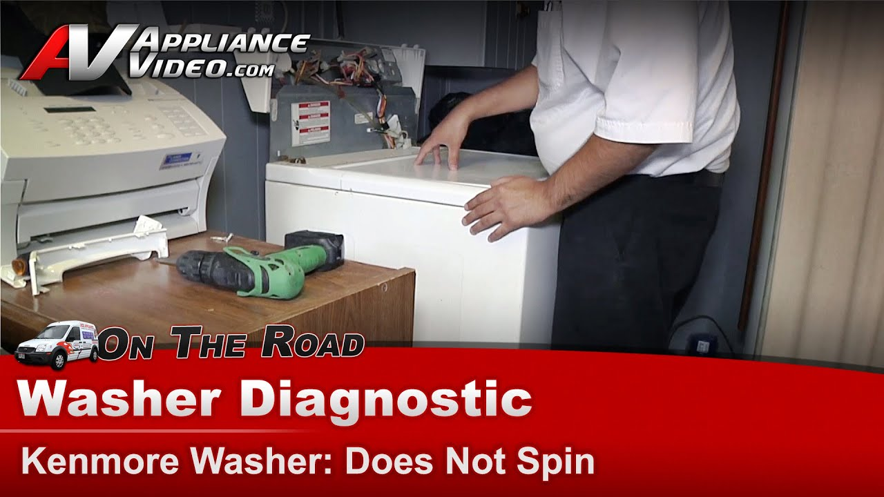 Washer Diagnostic Amp Repair Does Not Spin Whirlpool