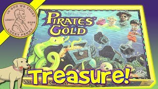 Pirates' Gold - The Magnetic 3-D Adventure Family Board Game - Golden Games