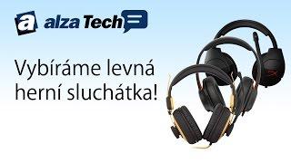 Vybíráme levné herní headsety! - AlzaTech #445