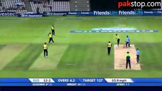 shahid afridi great perfomace in english county