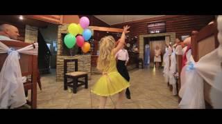 Шарики-фонарики. Танец. свадьба Кирилла и Ани.