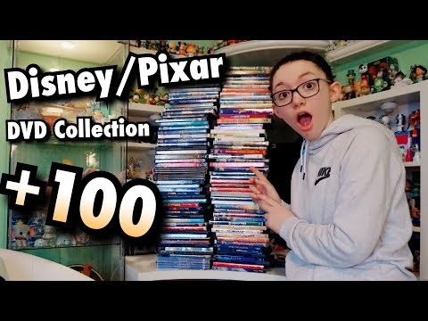 OVER 100 DISNEY, PIXAR, & LUCASFILM DVD'S!! Disney DVD Collection!