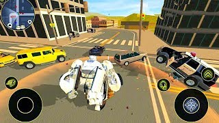 Robot Car ( By Naxeex Robots)  | Android Gameplay | Droidnation