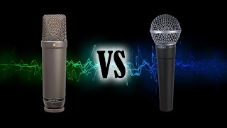 The difference between dynamic microphones and condenser microphones