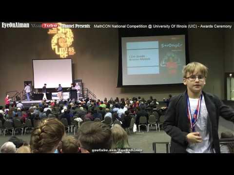 MathCON Awards Ceremony, National Math Competition @ University of Illinois UIC Chicago (FULL)