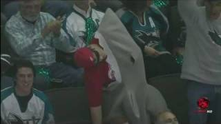San Jose Sharks Fan - Costume Devouring the Red Wings