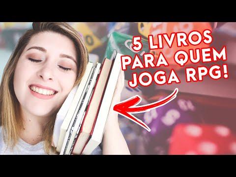 5 LIVROS PARA QUEM JOGA RPG DE MESA | Pausa Para Um Café
