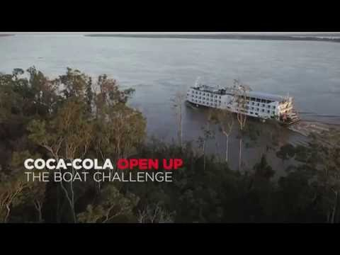 Coca-Cola Open Up 2016 – The Boat Challenge