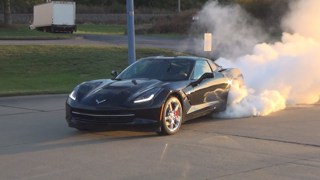 Best C7 Stingray Corvette Burnout Youtube