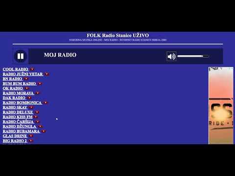FOLK Radio Stanice UŽIVO