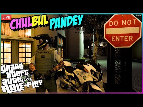GTA 5 RP LIVE 🔴 CHULBUL PANDEY the SUPERCOP👮 Legacy India Server • GTA 5 Role Play