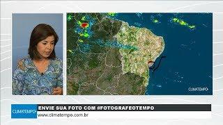 Previsão de chuva forte para Natal, João Pessoa e Recife