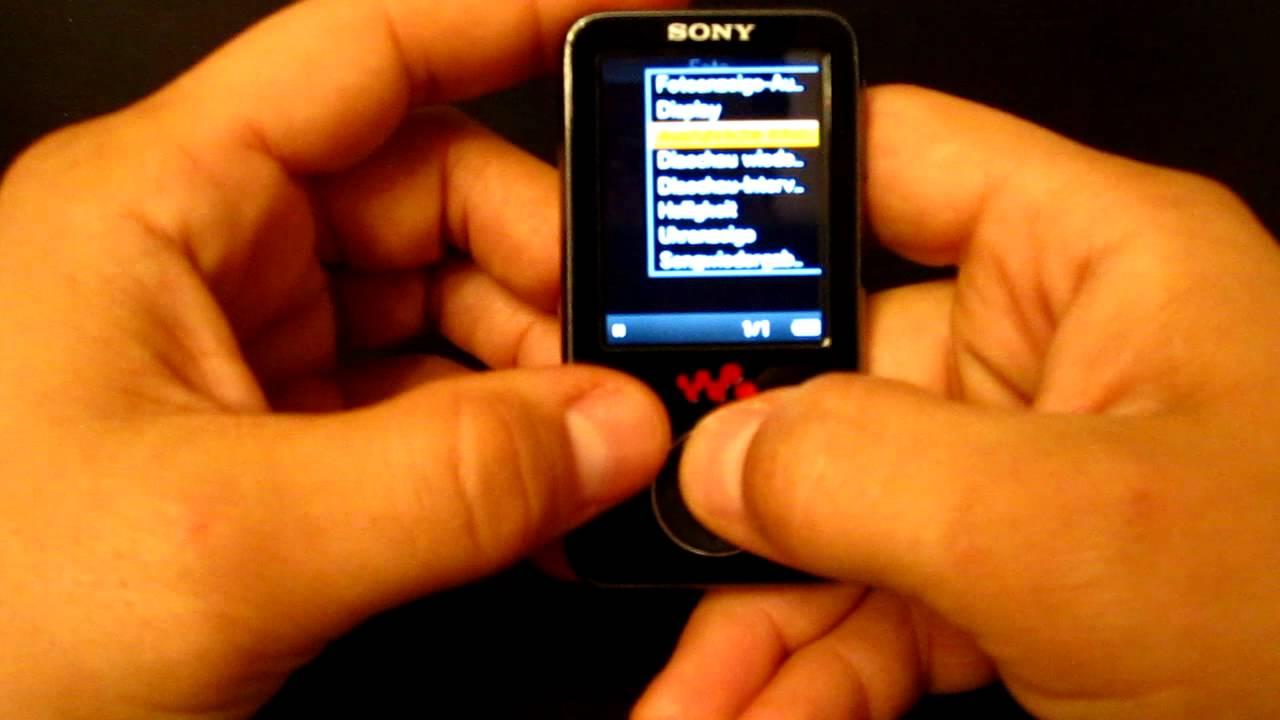 Ремонт и разборка плеера Sony Walkman nwz w273 - YouTube