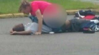 Vicious VA~ Trailer trash Barbie A77ested For Public Daytime S@x With Unconscious Boyfriend