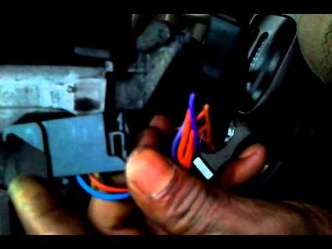 hqdefault 1998 ford contour turn signal switch removal youtube Ford Contour Fuses and Relays at soozxer.org