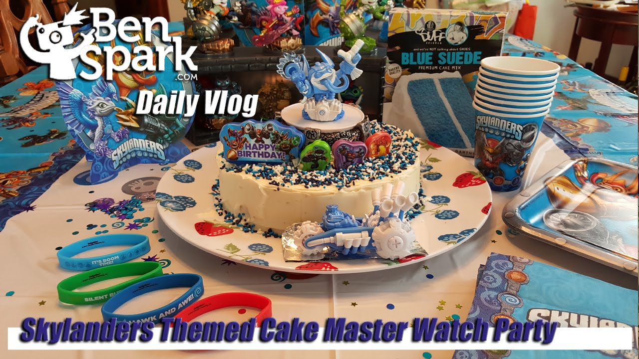Throwing A Skylanders Themed Cake Masters Watch Party YouTube