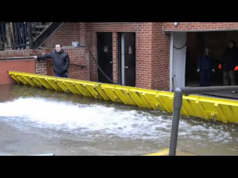 Floodbreak Passive Flood Barriers Deploy Automatically At