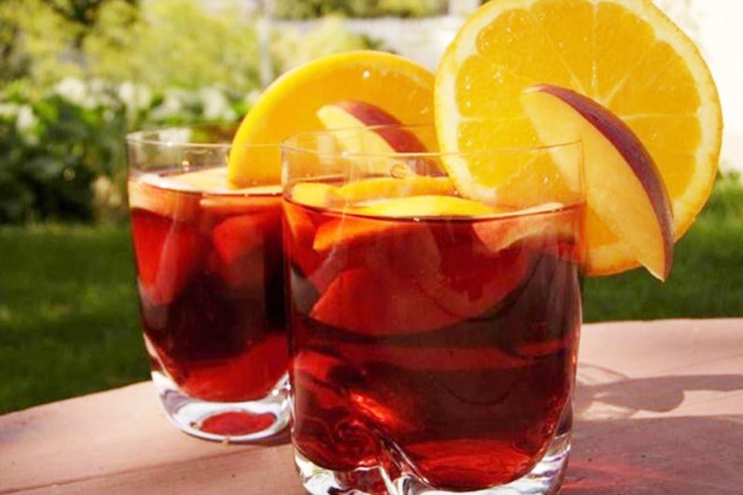 sangría española receta original