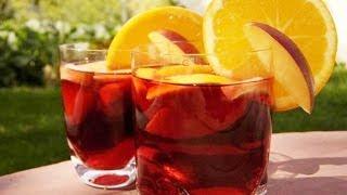Receta Clasica Sangria Española