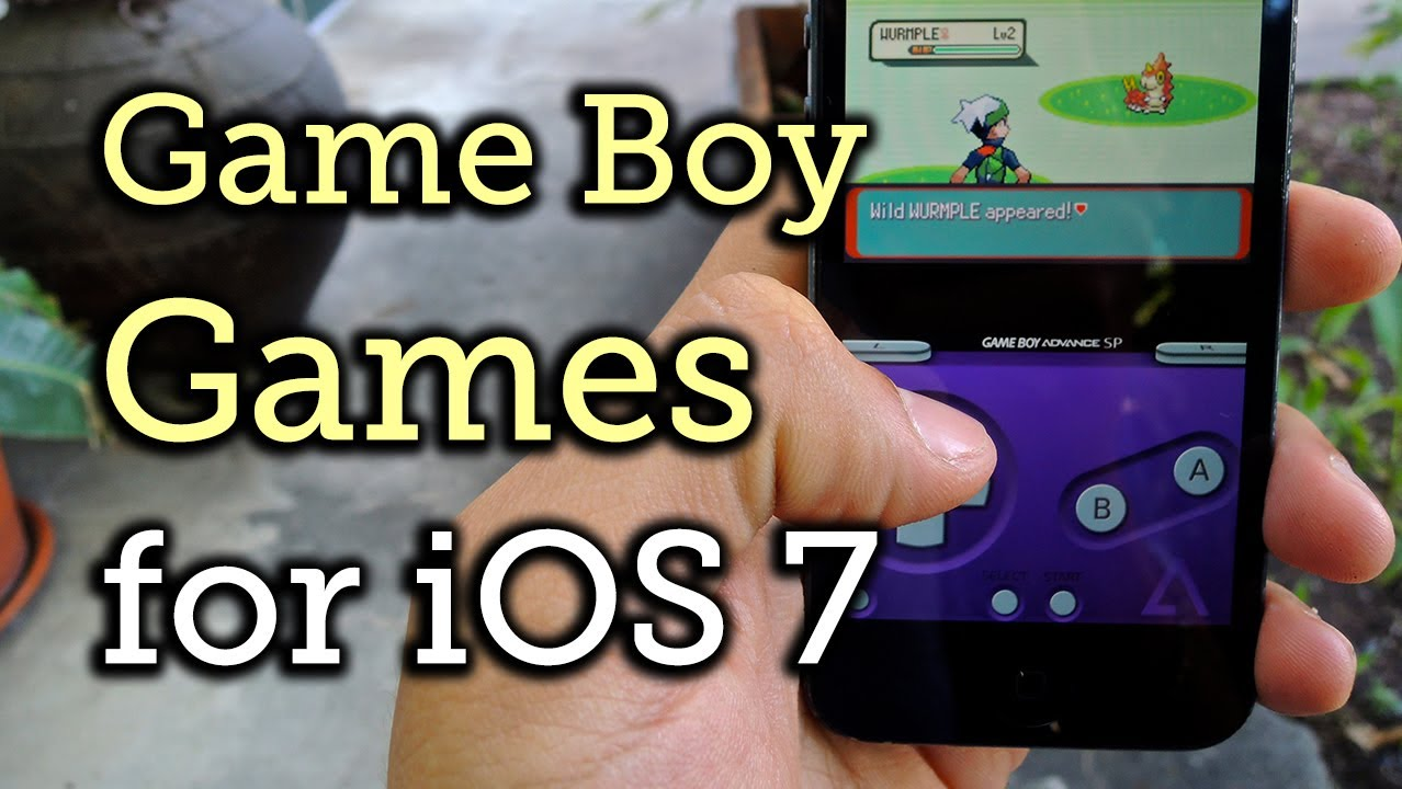 Pokemon gameboy color roms - Play Game Boy Advance Game Boy Color Roms On An Iphone Without Jailbreaking How To