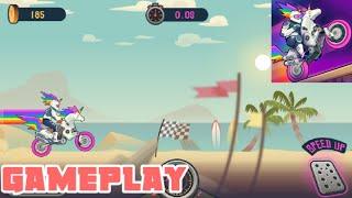 WHEELIE CROSS - MOTERBIKE GAME - ANDROID GAMEPLAY HD