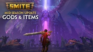 SMITE - 5.13 Mid-Season Update - Gods and Items