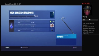 HLM-GS-GameOver's Live PS4 fortnite s5 high stakes 1s match of getaway