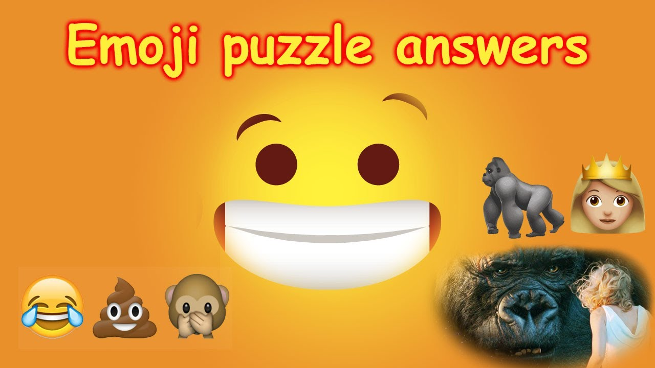 Emoji Puzzle Game Emoji Puzzle Solve And Answers Youtube