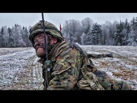 Germany Sends Troops To East Europe Alongside Americans