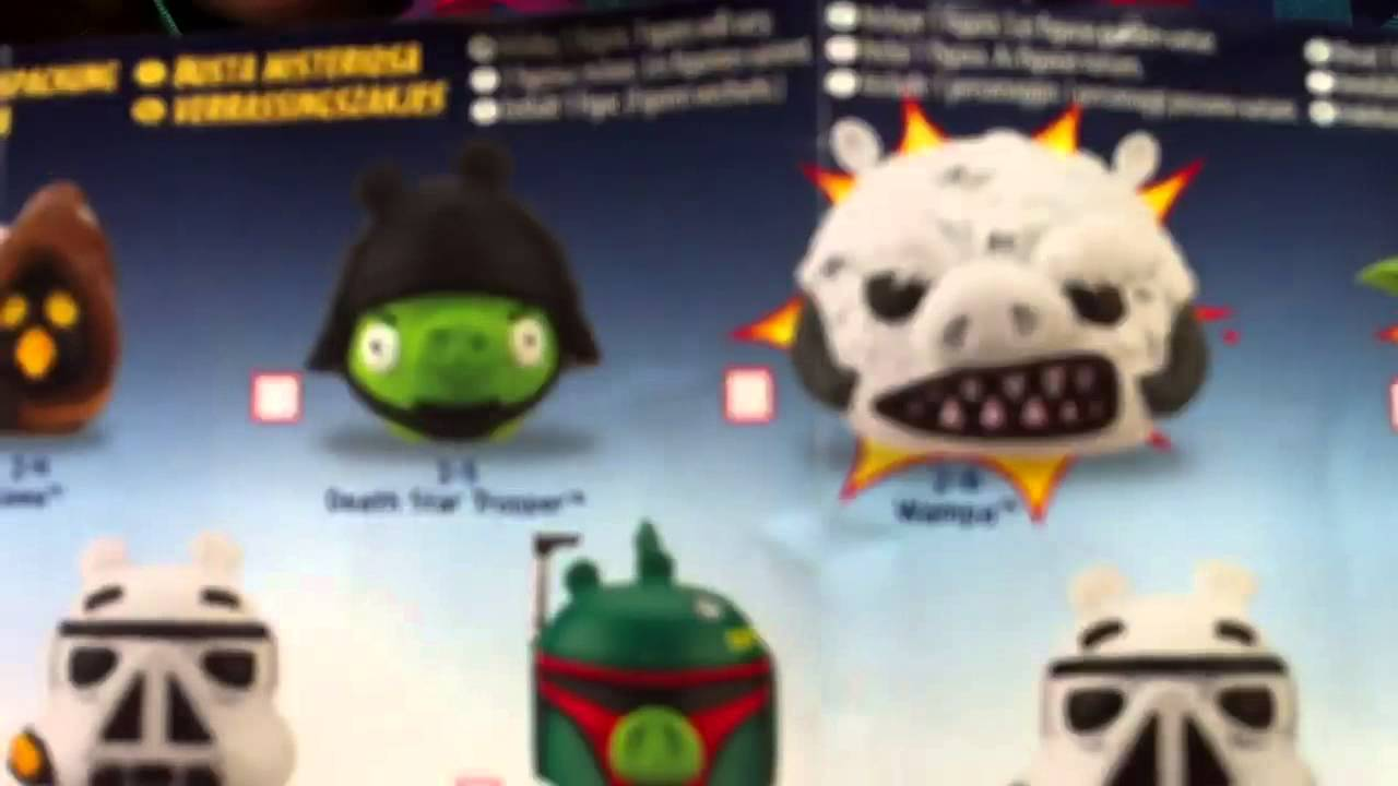 Angry Birds Star Wars Toys : Rebelscum sdcc exclusive angry birds star wars special