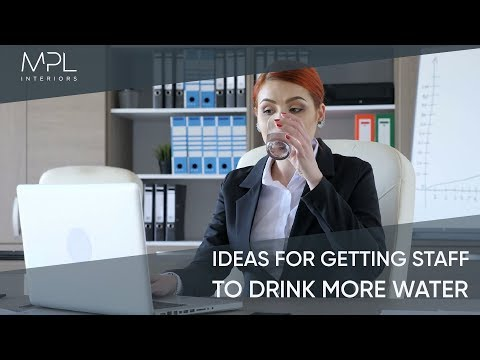 In the know about H2O: don't let parched staff hit your productivity levels