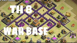 TH8 NEW BEST ANTI 3 STAR WAR BASE 2017 | ANTI EVERYTHING