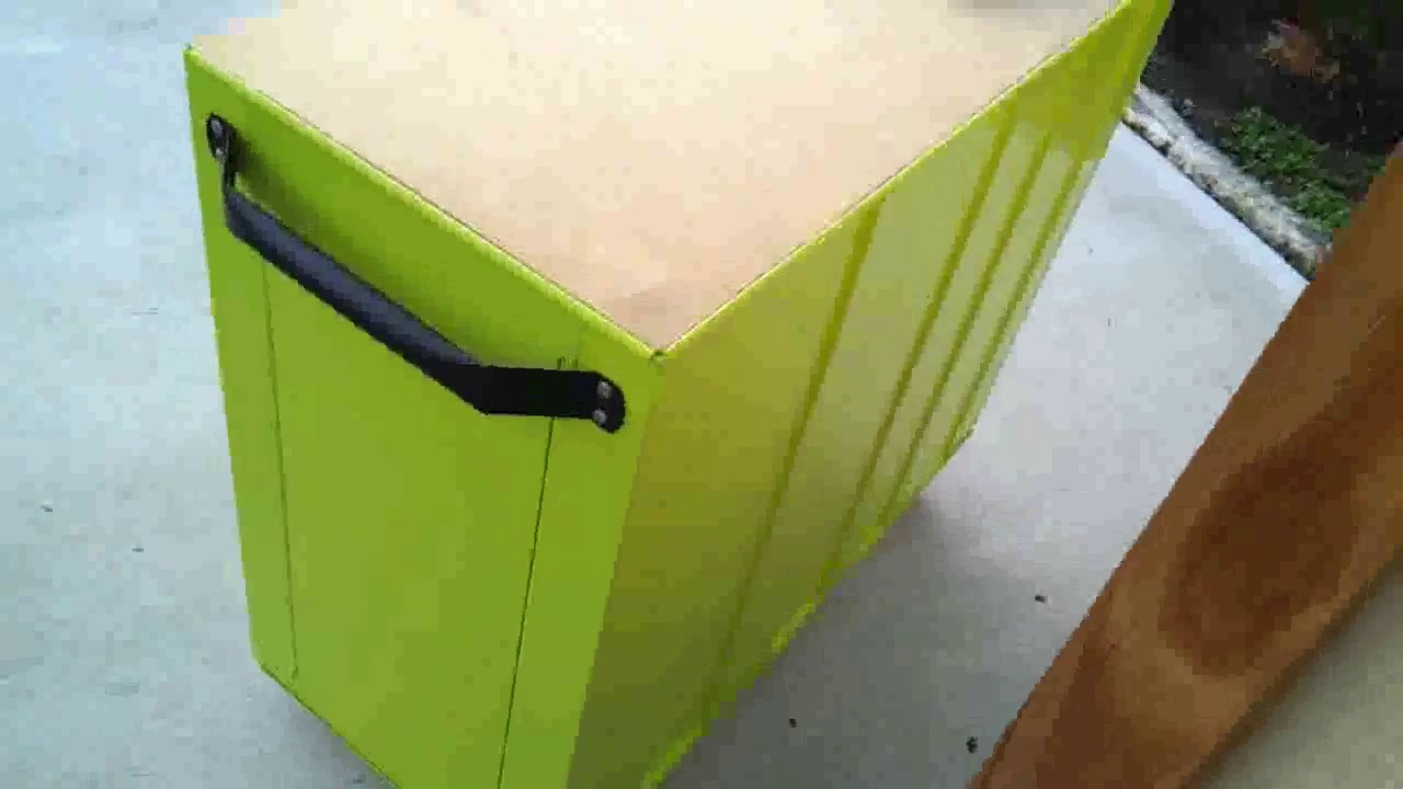 Custom Painted Tool Chest